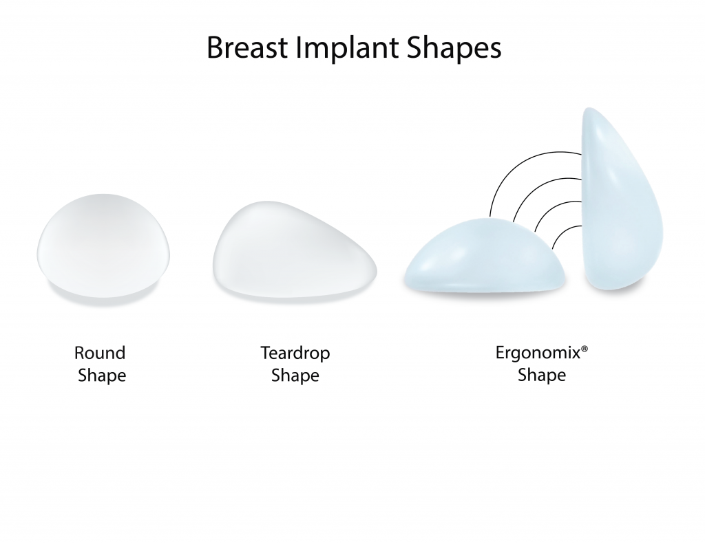 breast implant shapes singapore